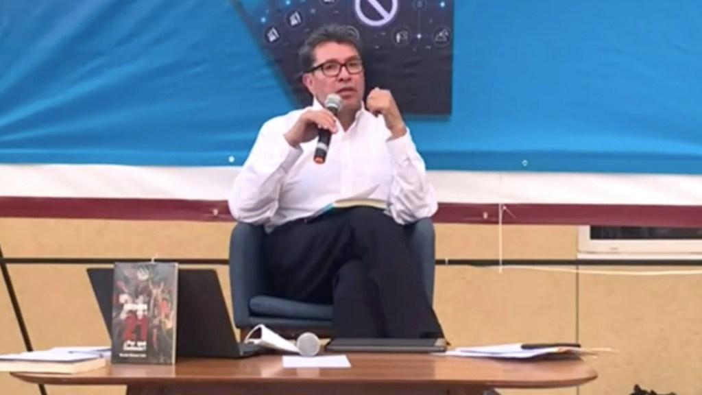 Ricardo Monreal asegura que hay rebelión de órganos institucionales. Foto tomada de video