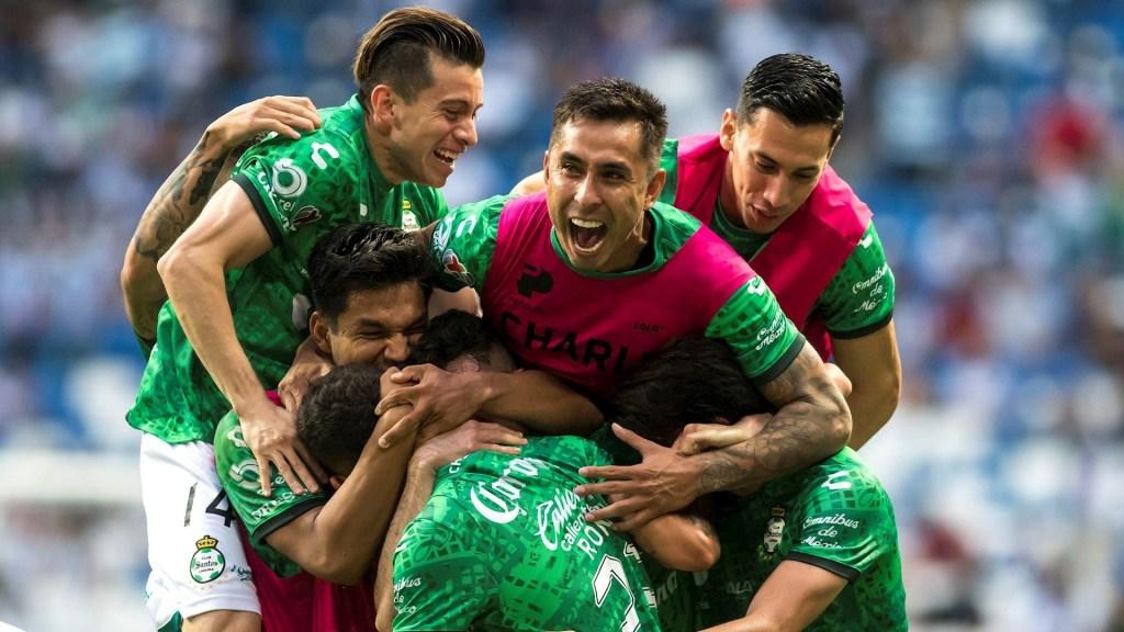 Santos Laguna partido Rayados Monterrey