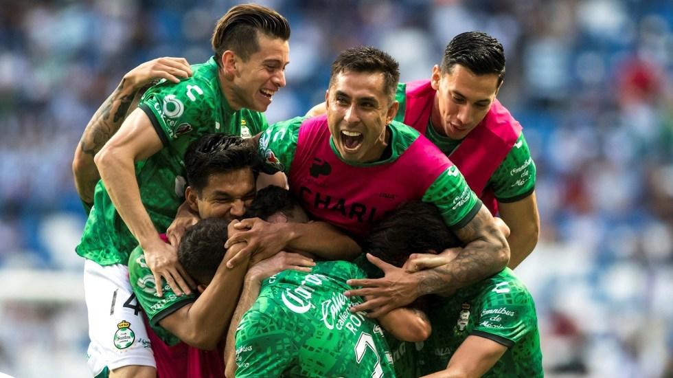 Santos se clasifica a la semifinal del Clausura 2021 al empatar con Monterrey - Santos Laguna partido Rayados Monterrey