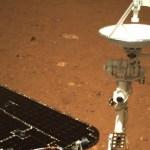 La sonda china Tianwen-1 envía las primeras imágenes tras su llegada a Marte - Sonda china Tianwen-1 envía primeras imágenes tras su llegada a Marte. Foto de @ChinaMissionVie