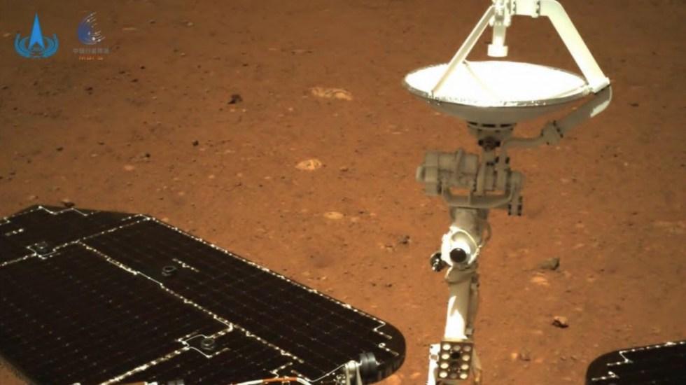 Sonda china Tianwen-1 envía primeras imágenes tras su llegada a Marte - Sonda china Tianwen-1 envía primeras imágenes tras su llegada a Marte. Foto de @ChinaMissionVie