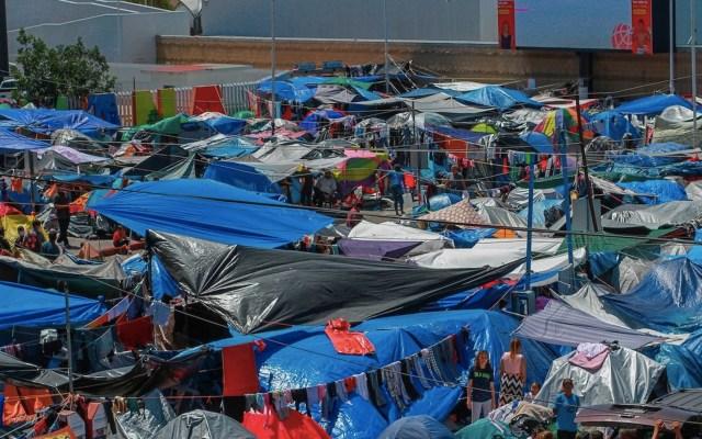 Tijuana se enfrenta a una crisis de migrantes sin una solución clara - Tijuana se enfrenta a una crisis migratoria sin una solución clara. Foto de EFE