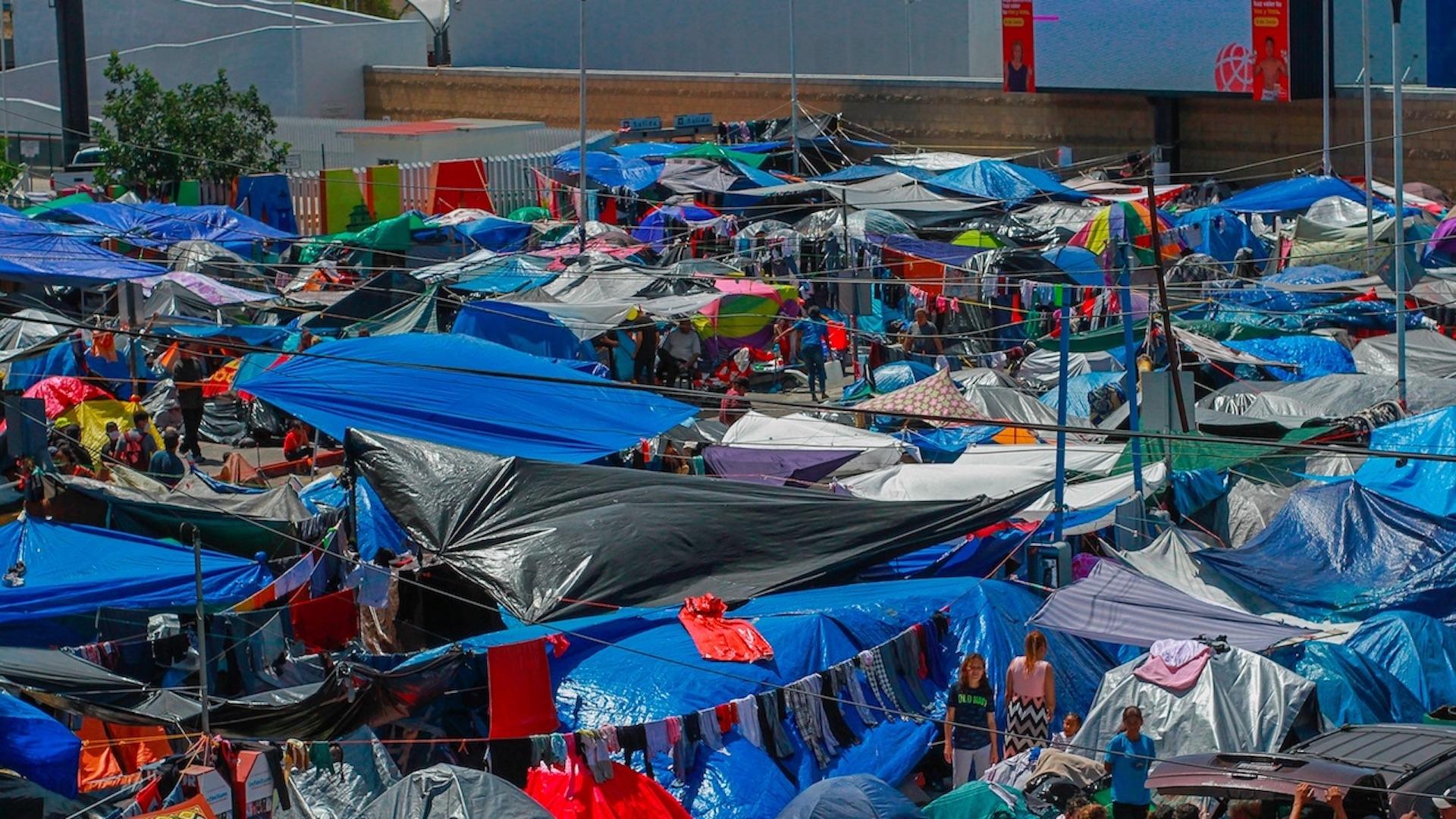 Tijuana se enfrenta a una crisis migratoria sin una solución clara. Foto de EFE