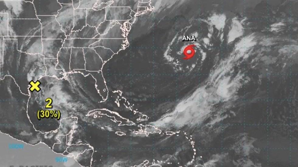 Ana se convierte en la primera tormenta subtropical en el Atlántico - Ana se convierte en la primera tormenta subtropical en el Atlántico. Foto de NHC