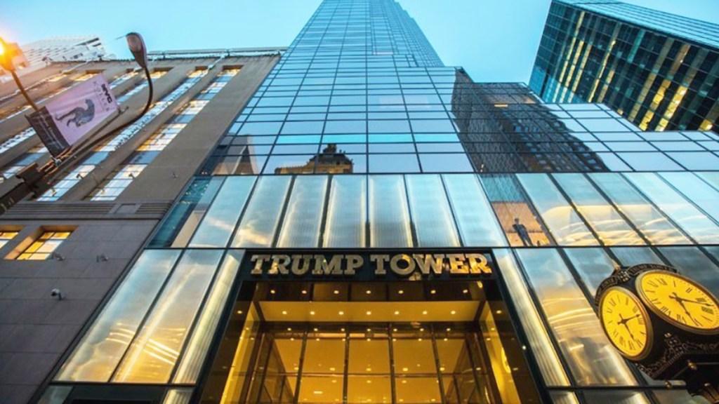 Organización Trump suma investigación criminal por posible engaño - Torre Trump en Nueva York. Foto de Google Maps / Phan Anh Quân