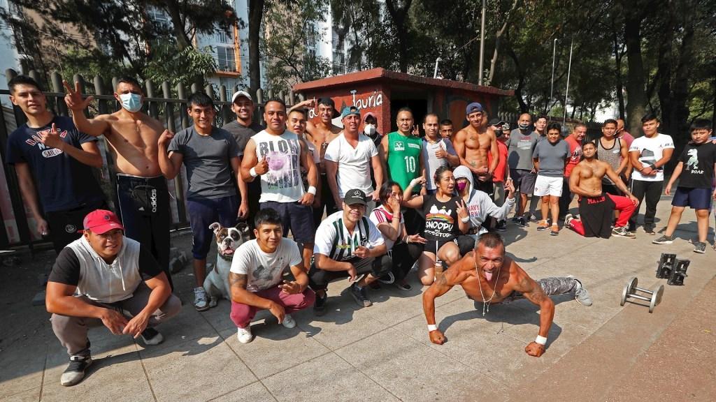 'Valle de los mamados', un lugar para hacer deporte y enfrentar la dura realidad en Tepito - Valle del Mamado Tepito deporte