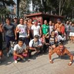'Valle de los mamados', un lugar para hacer deporte y enfrentar la dura realidad en Tepito