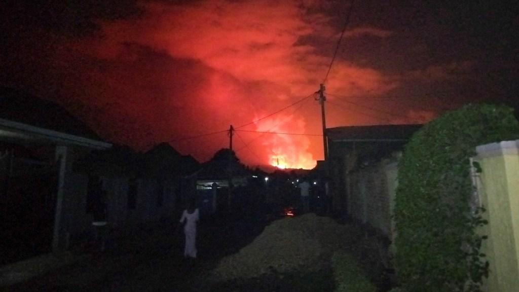 Suman 15 muertos por erupción del volcán Nyiragongo en RD del Congo - volcán Nyiragongo en RD CongO