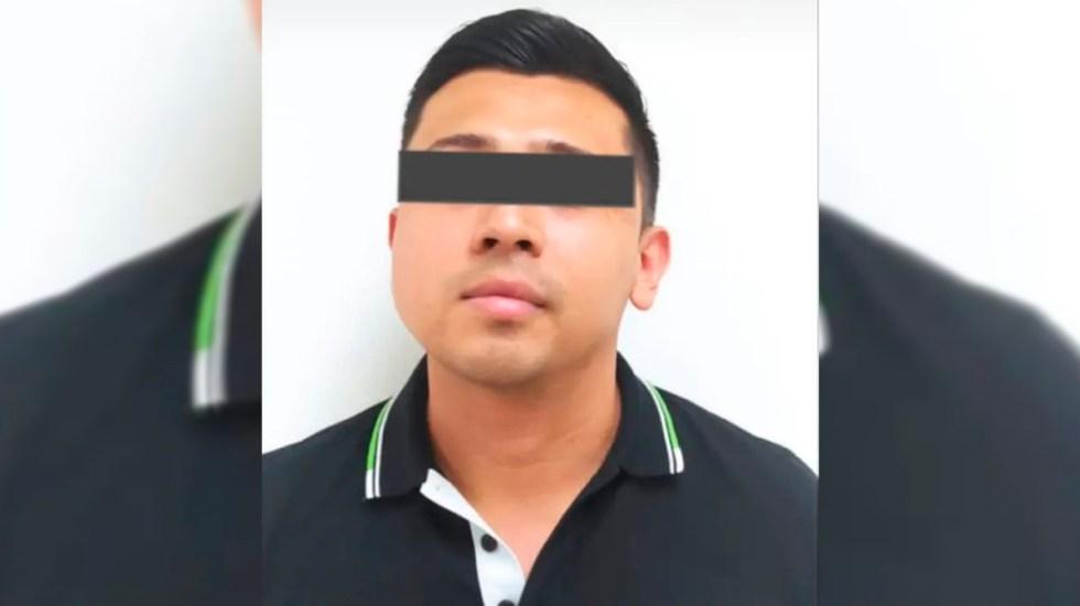 Joven asesina a sus padres en NL y después los reporta como desaparecidos - Alexis Ismael, detenido por el asesinato de sus padres. Foto de Fiscalía de Nuevo León
