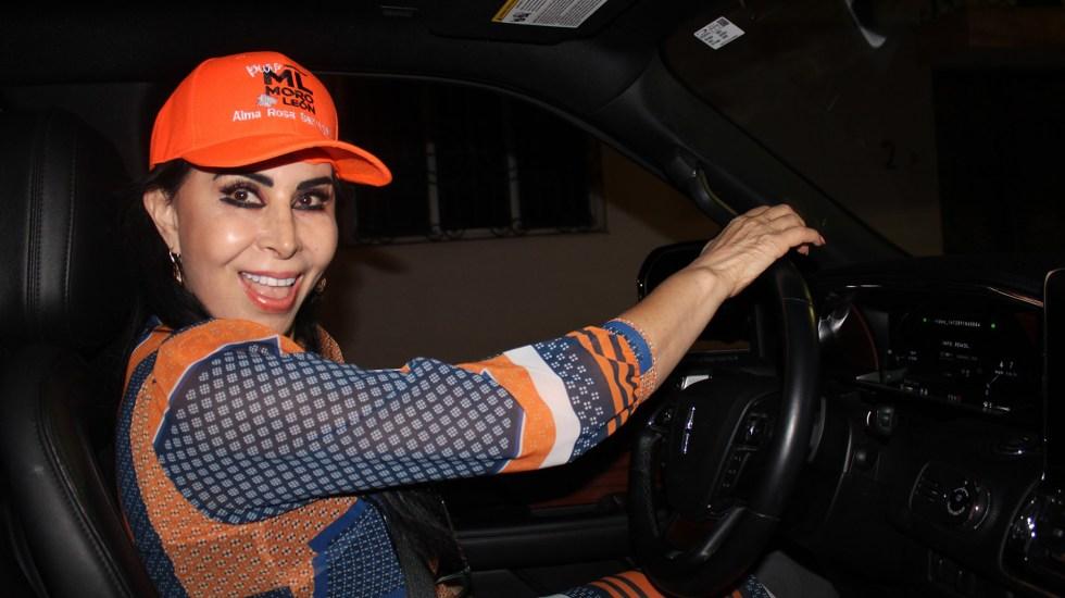 Madre afirma que detenido no mató a la candidata Alma Barragán - Alma Barragán. Foto de @AlmaBarraganSantiago