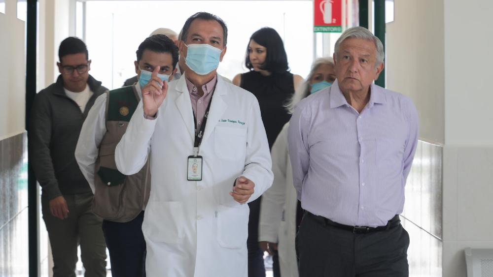 AMLO ordena que IMSS administre hospitales que fueron reconvertidos en la pandemia - AMLO López Obrador IMSS hospitales