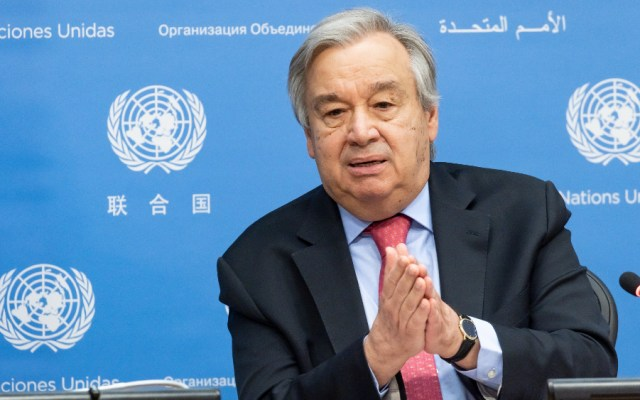 Consejo de Seguridad respalda que Guterres continúe al frente de ONU - António Guterres