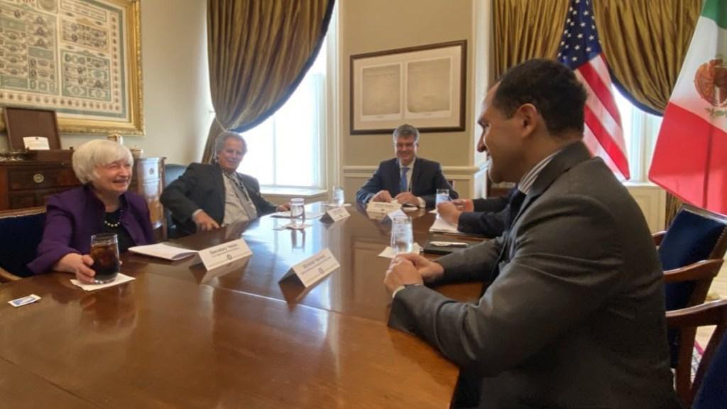 Arturo Herrera discute impuesto global a corporaciones con secretaria del Tesoro de EE.UU. - Arturo Herrera Yellen