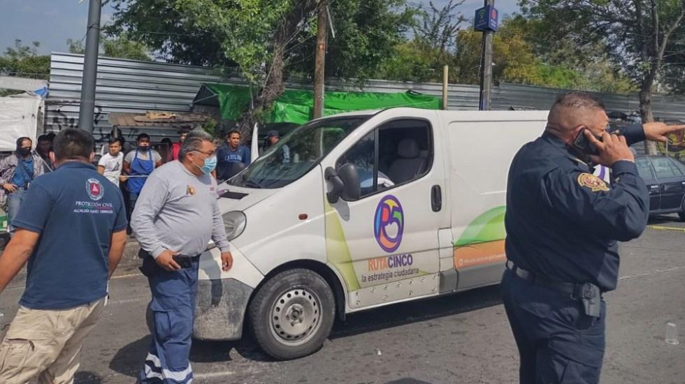 Asesinan a hombre perteneciente a la organización política Ruta 5 - asesinato Ruta 5 CDMX Álvaro Obregón