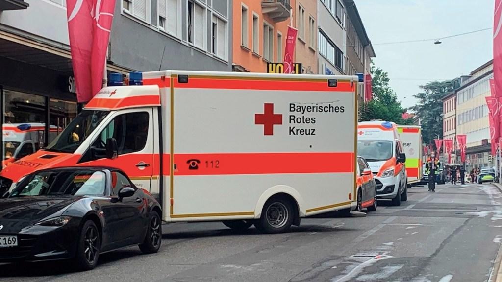 Tres muertos y varios heridos graves en ataque con cuchillo en Würzburgo, Alemania - Tres muertos y varios heridos graves en ataque con cuchillo en Alemania. Foto de EFE