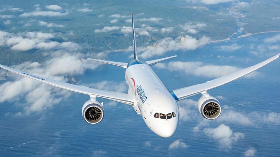 Aeroméxico presenta plan de reestructuración - Avión 787 Dreamliner. Foto de @AeromexicoMX