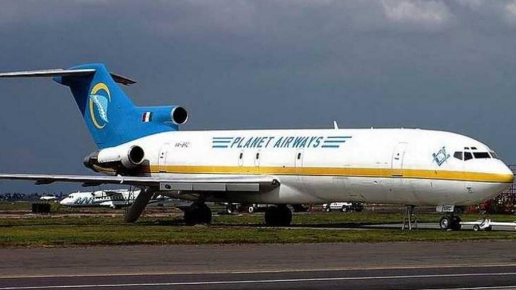 Avión abandonado en Cuernavaca pasará a ser propiedad de la nación - Avión abandonado Cuernavaca Aeropuerto