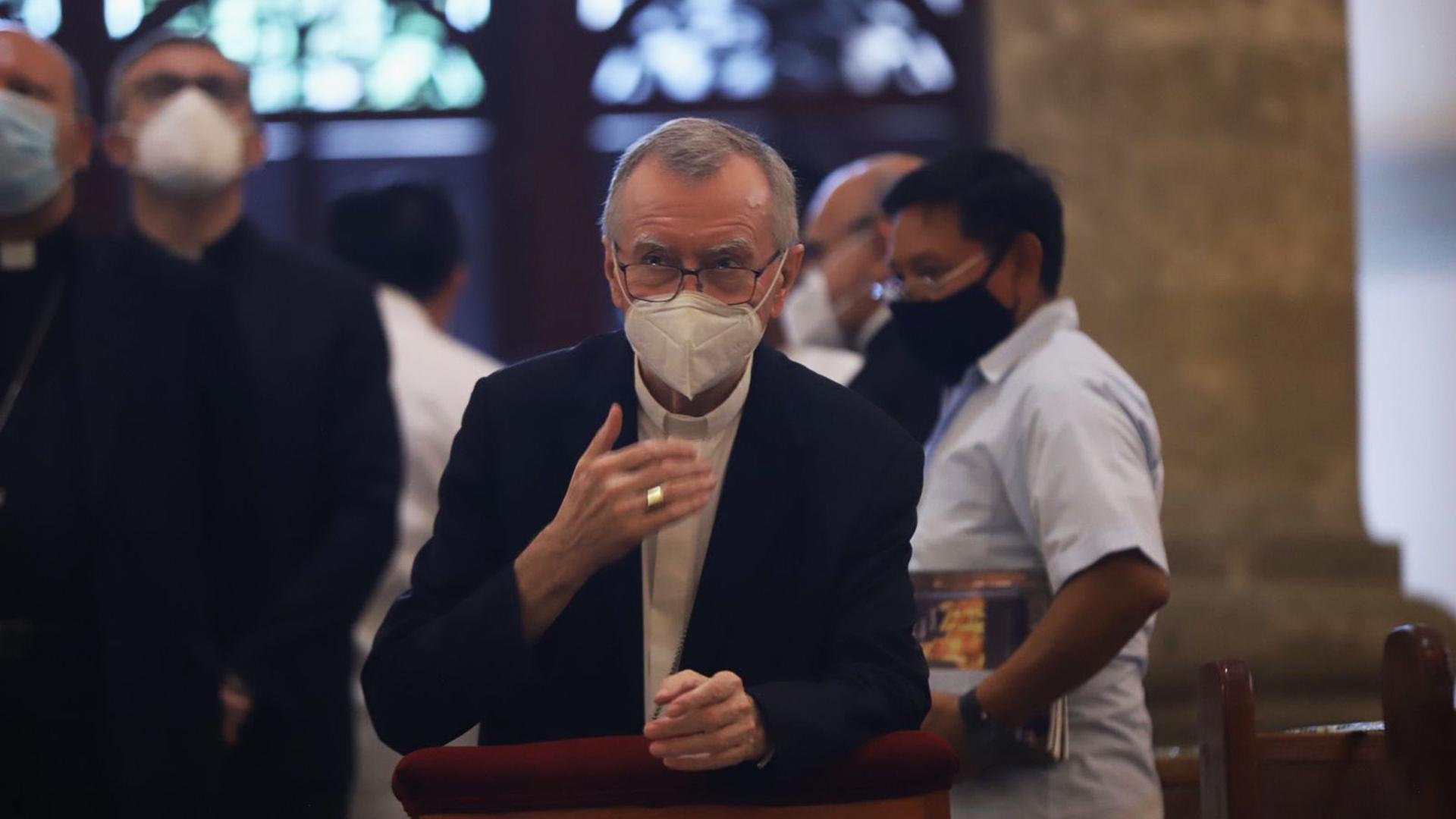 """Secretario de Estado del Vaticano pide a México """"unir fuerzas"""" ante COVID-19"""