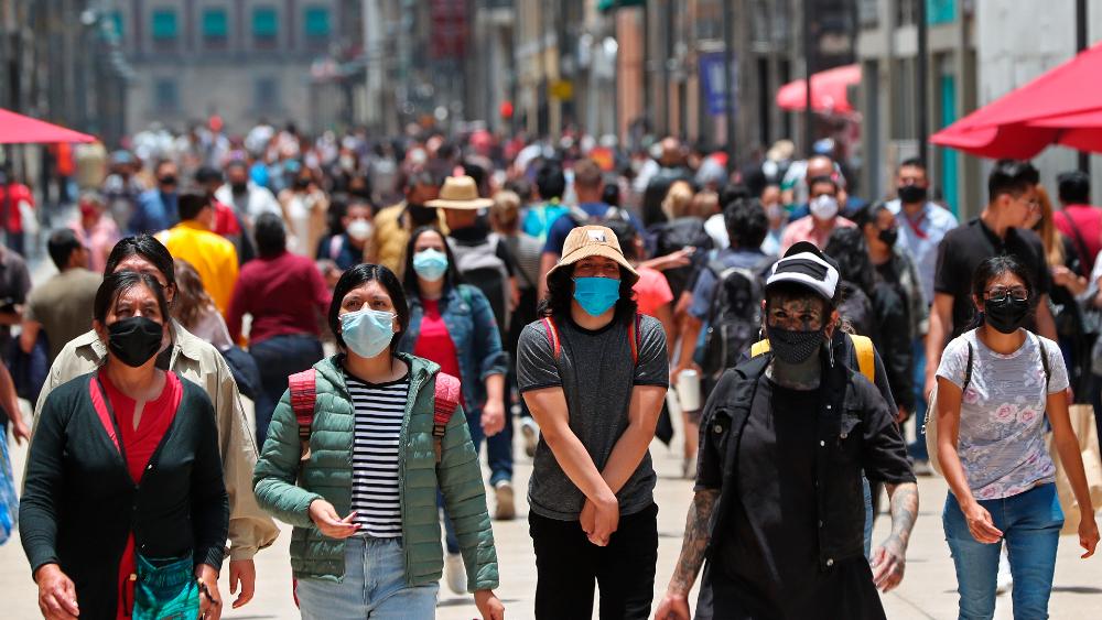 """AMLO ve """"signos alentadores"""" de recuperación sanitaria y económica - CDMX coronavirus covid19 Centro Histórico Ciudad de México recuperación"""