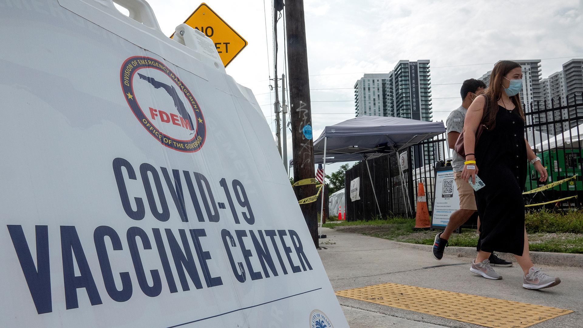 Estados Unidos admite que no logrará su meta de vacunación para el 4 de julio