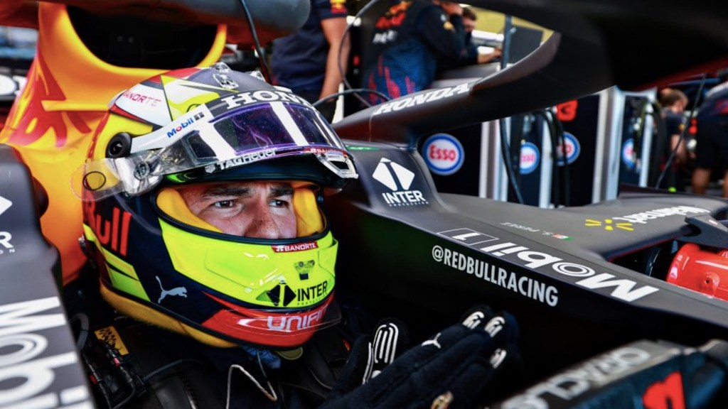 'Checo' Pérez saldrá séptimo en el GP de Azerbaiyán. Foto de F1