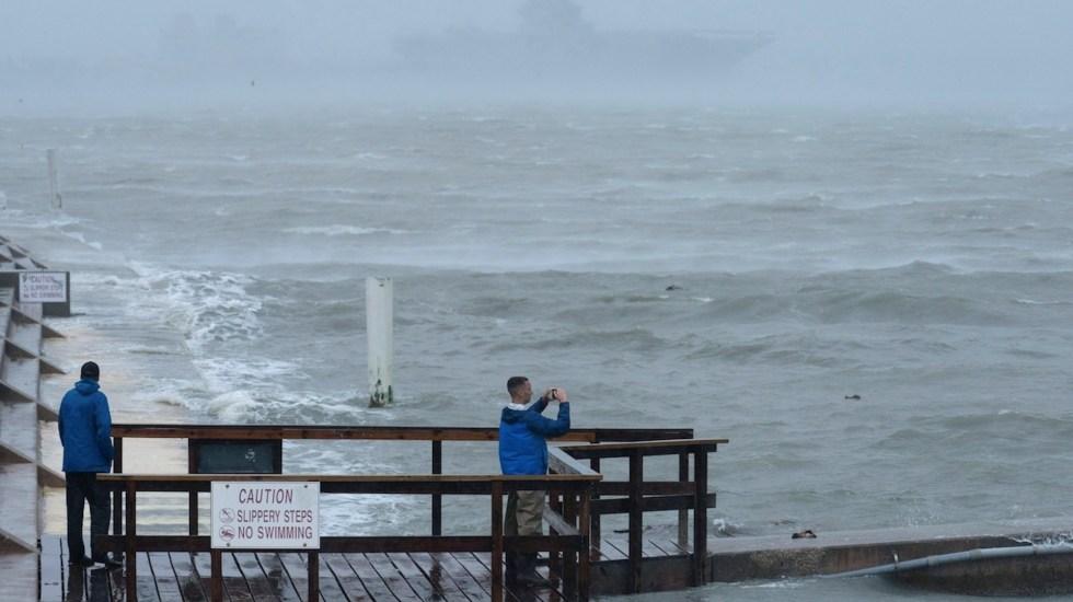 Tormenta tropical Claudette toca tierra en la costa norte del Golfo de México - Tormenta tropical Claudette toca tierra en la costa norte del Golfo de México. Foto de EFE