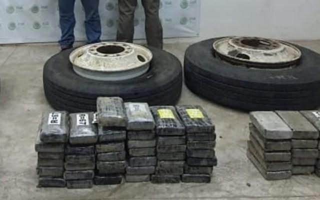 Autoridades decomisan 100 kilos de cocaína en Chiapas - cocaina Chiapas 100 kilos