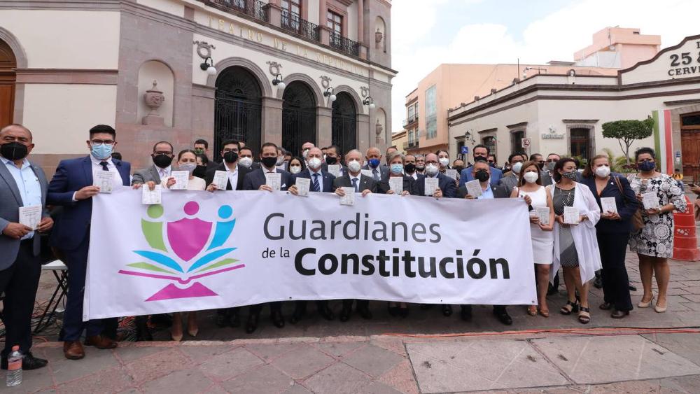 Coparmex presenta iniciativa para vigilar y defender la Constitución - Coparmex Guardianes de la Constitución