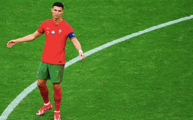 Cristiano Ronaldo en el partido contra Alemania donde pese a que marcó un gol, los teutones vencieron a Portugal - Foto de EFE