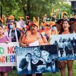 Dreamers piden una vía para la ciudadanía en EE.UU. en aniversario de DACA - Dreamers piden ciudadanía estadounidense en aniversario de DACA. Foto de EFE