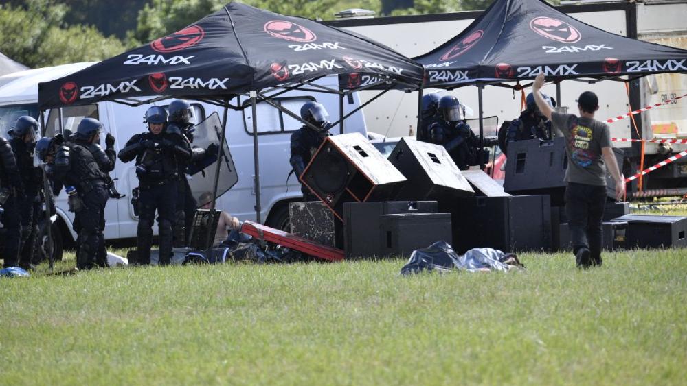 En Francia dispersan fiesta clandestina; hay varios heridos