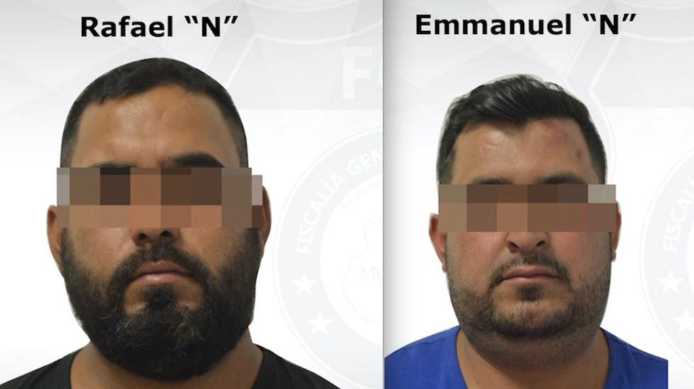 Vinculan a proceso a dos sujetos relacionados con el homicidio del secretario de seguridad pública de Cuernavaca - Foto de Fiscalía Morelos