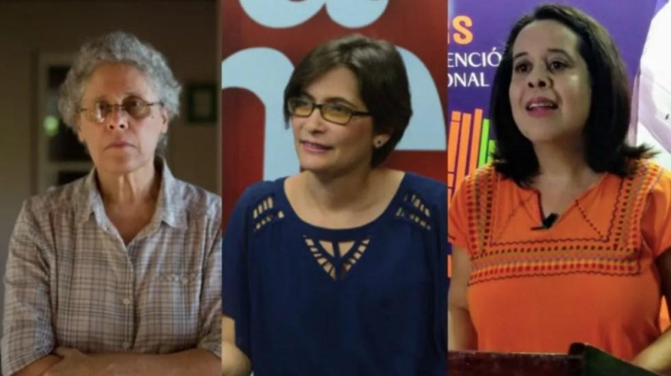 Policía de Nicaragua arresta a exguerrillera sandinista y a 2 opositoras - Dora María Téllez, Ana Margarita Vigil y Suyen Barahona
