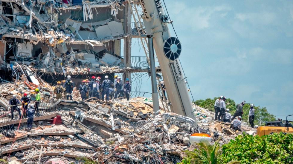 Mayoría de los 9 muertos del derrumbe en Miami tenían origen hispano - Edificio colapso Miami Surfside