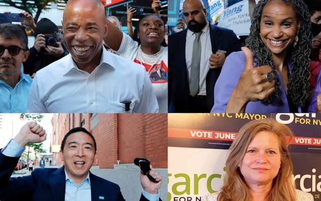 Nueva York realiza elecciones primarias para elegir a alcalde - Nueva York realiza elecciones primarias para elegir a alcalde. Foto de EFE