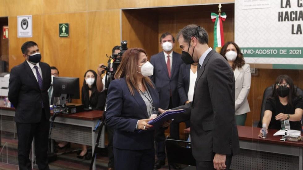 INE entrega constancias de mayoría a la Cámara de Diputados - Entrega de constancias de mayoría en Cámara de Diputados. Foto de Cámara de Diputados