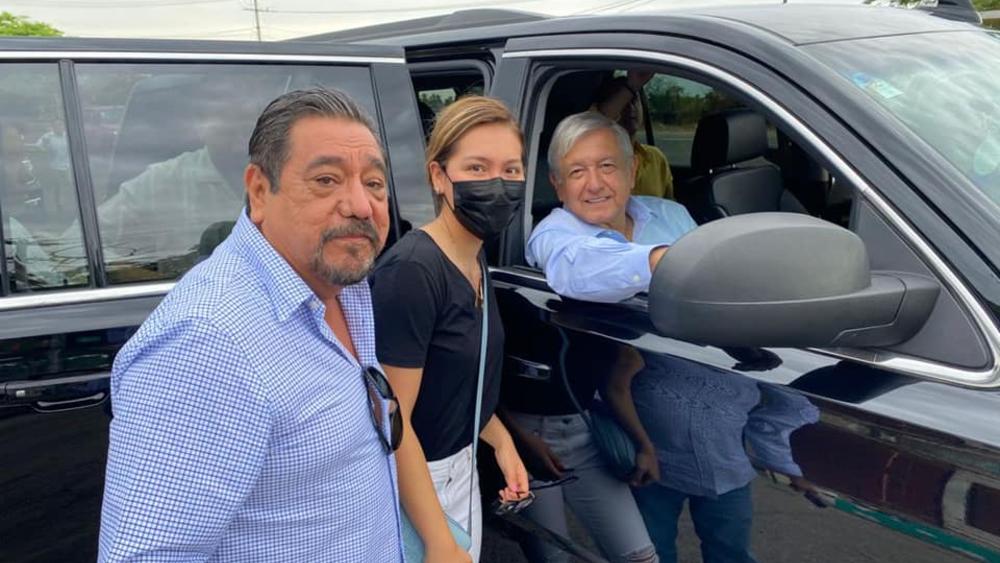Salgado Macedonio se reencuentra con AMLO en Acapulco - Felix Salgado Macedonio AMLO López Obrador