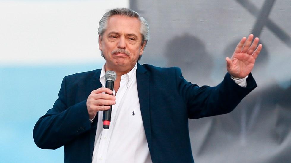 """Alberto Fernández ofrece disculpas por afirmar que """"los mexicanos salieron de los indios"""" - El presidente de Argentina, Alberto Fernández. Foto de EFE / Archivo"""