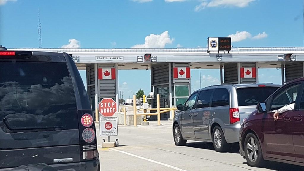 Canadá reabrirá el 9 de agosto su frontera a estadounidenses vacunados - Frontera de Estados Unidos con Canadá. Foto de Google Maps / Daniel Erasmo Avellaneda Sánchez