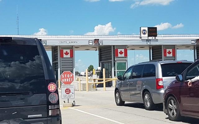 EE.UU. amplía restricciones de viaje en sus fronteras con Canadá y México hasta el 21 de julio - Frontera de Estados Unidos con Canadá. Foto de Google Maps / Daniel Erasmo Avellaneda Sánchez