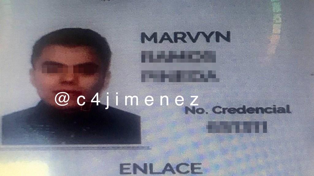 Detienen a funcionario de FGR en la GAM por robo en supermercado - Funcionario de la FGR detenido en CDMX por robo. Foto de @c4jimenez