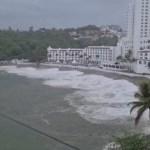 #Videos Huracán Enrique provoca afectaciones en Colima