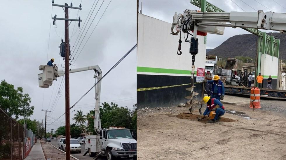 Por paso de Enrique, 121 mil 950 usuarios se quedaron sin luz: CFE - Jalisco BCS CFE Enrique tormenta luz