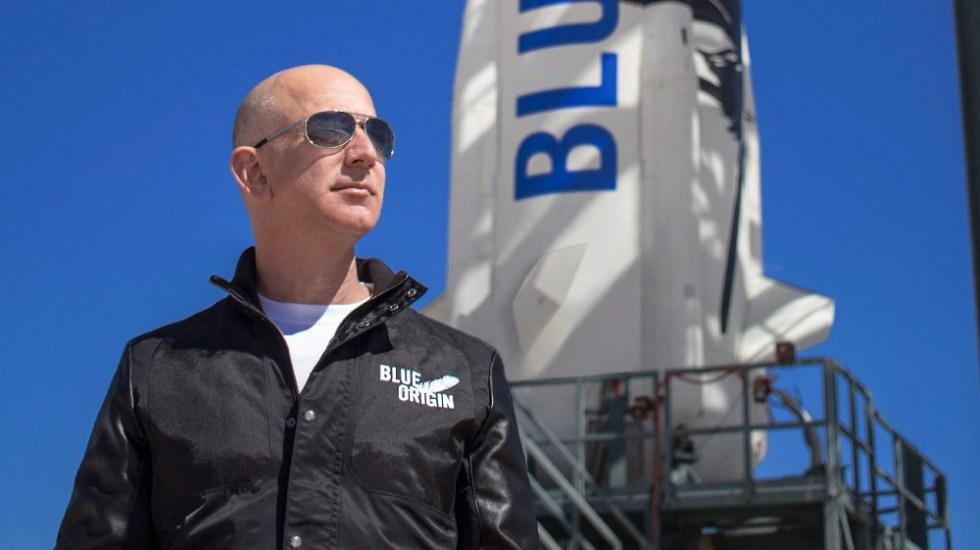 Pagan 28 millones de dólares por viajar al espacio junto a Jeff Bezos - Jeff Bezos Blue Origin espacio