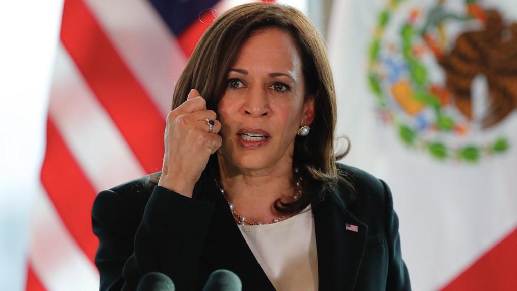Precisa Kamala Harris que comentarios sobre periodistas y ONG fueron para Guatemala y no México - Harris aclara que se refería solo a Guatemala en comentario sobre las ONG. Foto de EFE
