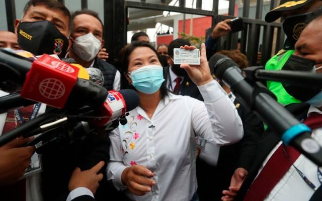 Perú elecciones: Fujimori arriba de Castillo, pero en empate técnico - Keiko Fujimori Perú