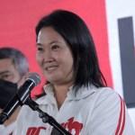 """Fujimori considera """"absurda"""" las razones para que regrese a prisión - La candidata presidencial, Keiko Fujimori. Foto de EFE"""
