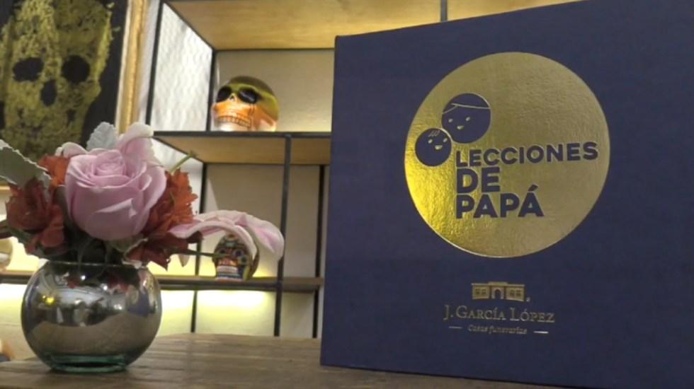 Exposición en México con mensajes a padres fallecidos en la pandemia