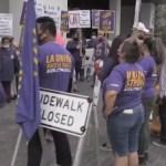 Trabajadores de limpieza en Miami piden mejores condiciones laborales y un 'salario justo'