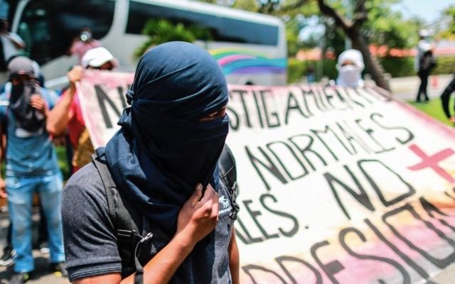 Juez libera a normalistas detenidos en Chiapas - Juez libera a normalistas detenidos en Chiapas. Foto de EFE